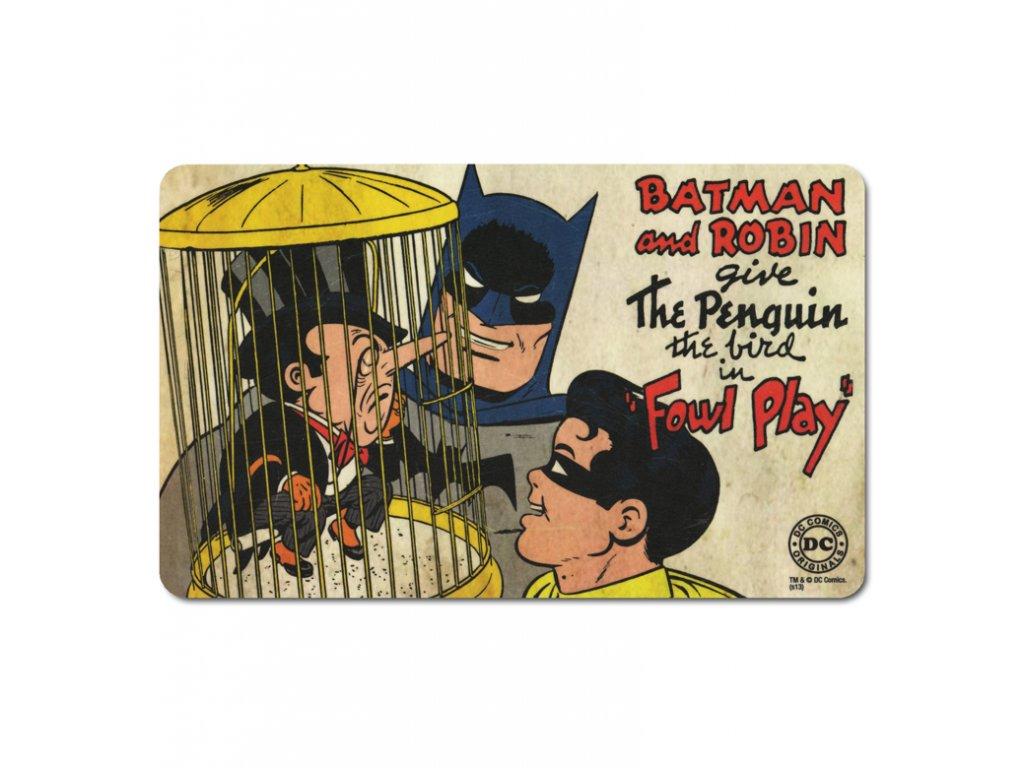 Batman a Robin - The Penguin - Snídaňový podtácek