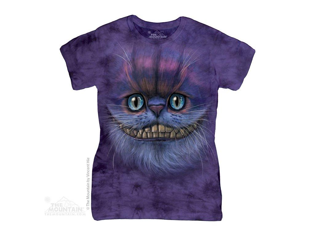 Dámské Tričko Cheshire Cat