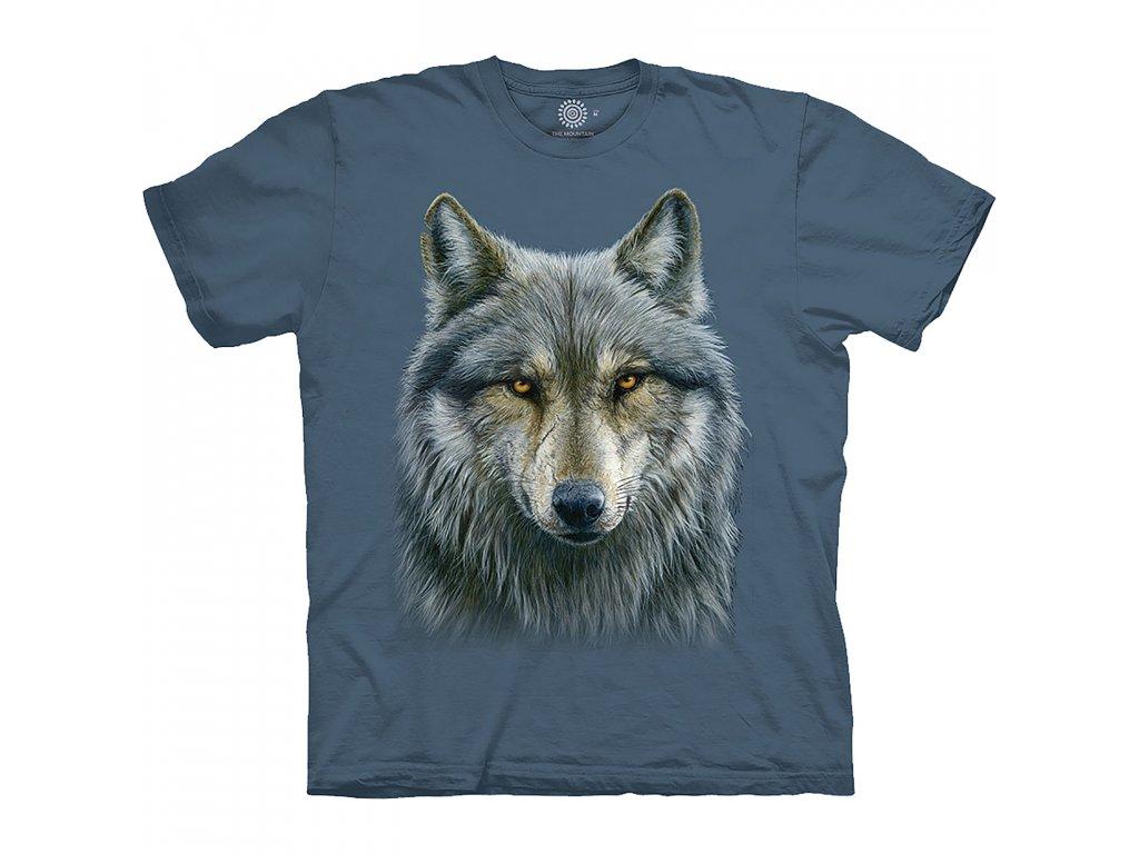 Tričko Modrý vlk