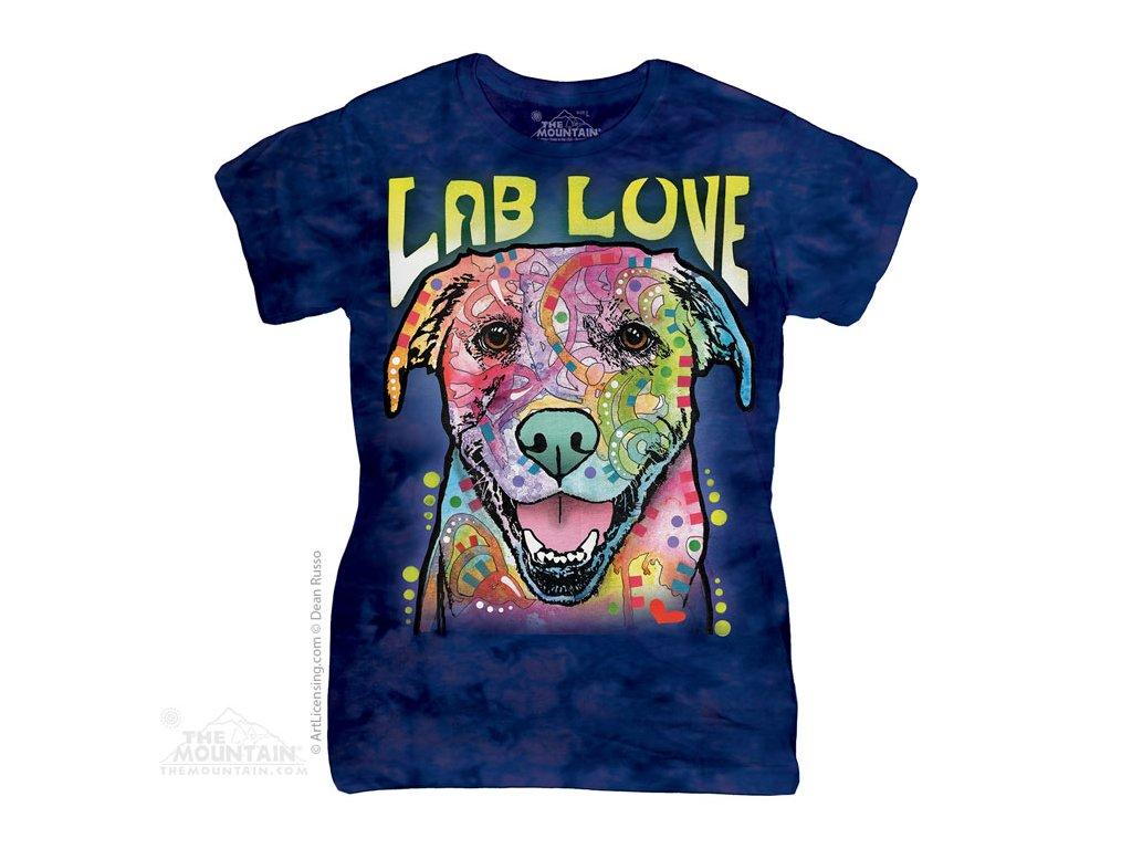Dámské Tričko Labrador - Dean Russo