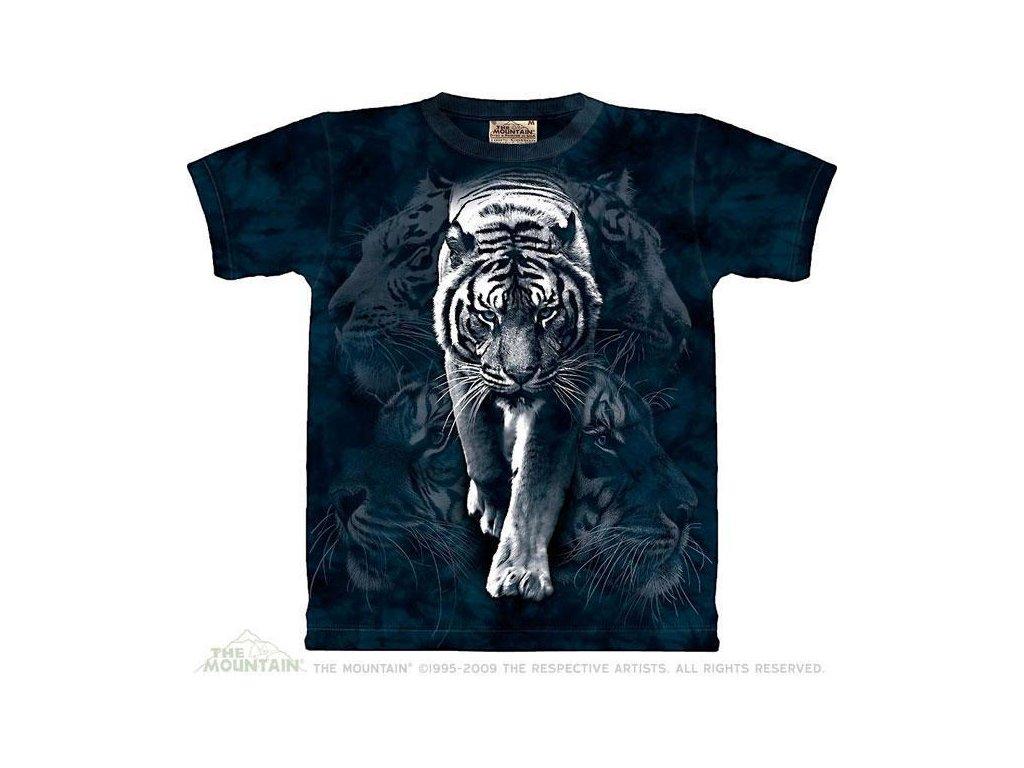 Tričko Koláž bílého tygra - 2017