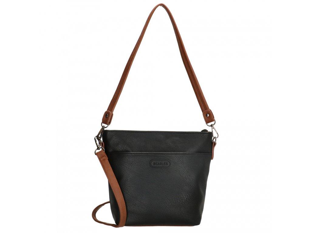 Elegantní dámská crossbody kabelka Beagles Xornes - černá