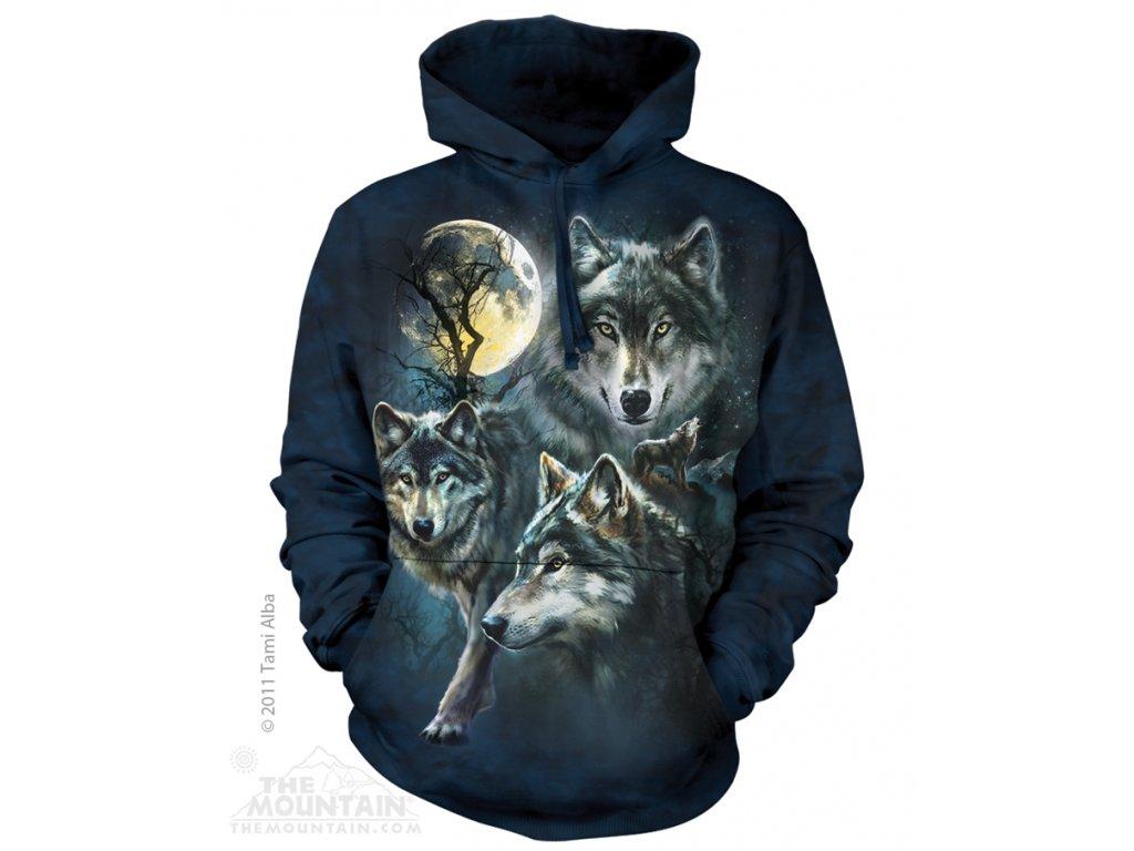 Mikina Měsíční Vlci