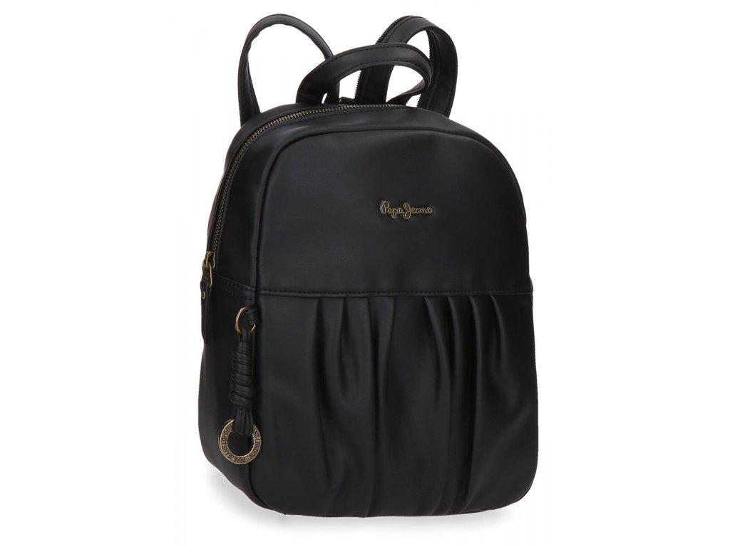 Dámský elegantní batoh Pepe Jeans Iria černý