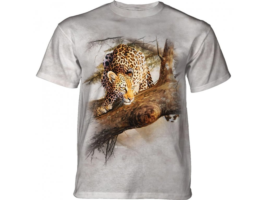 Tričko Leopard na stromě