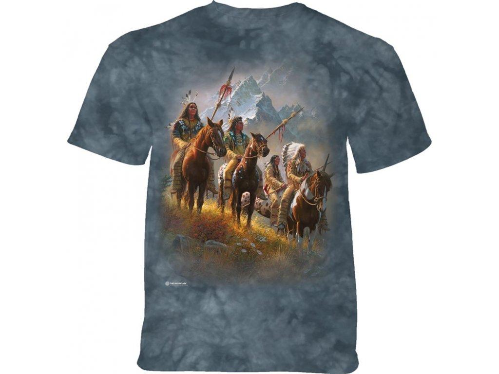 Modré tričko a indiánský kmen