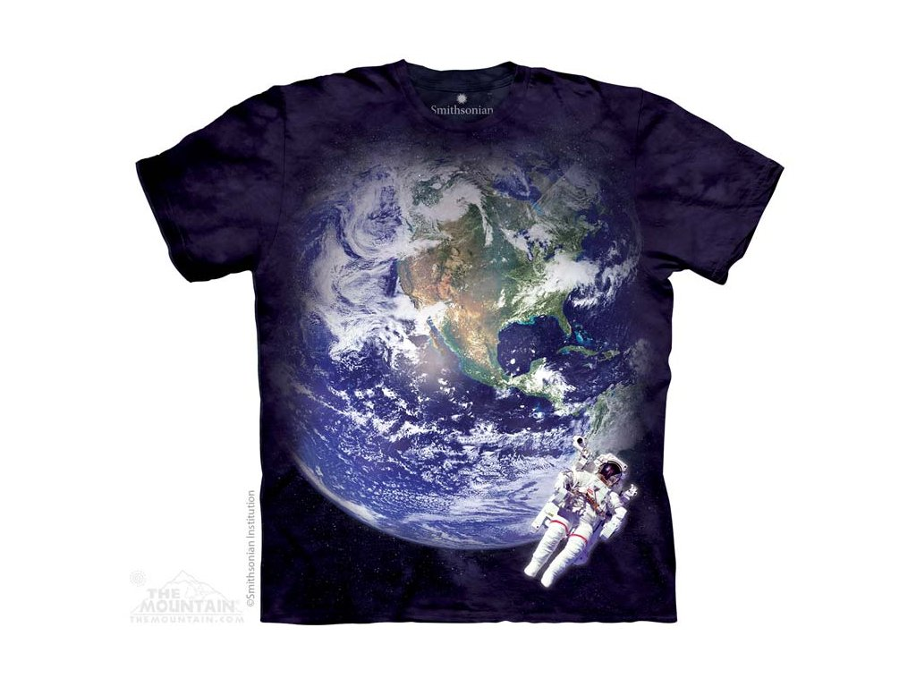 Tričko Země z Vesmíru