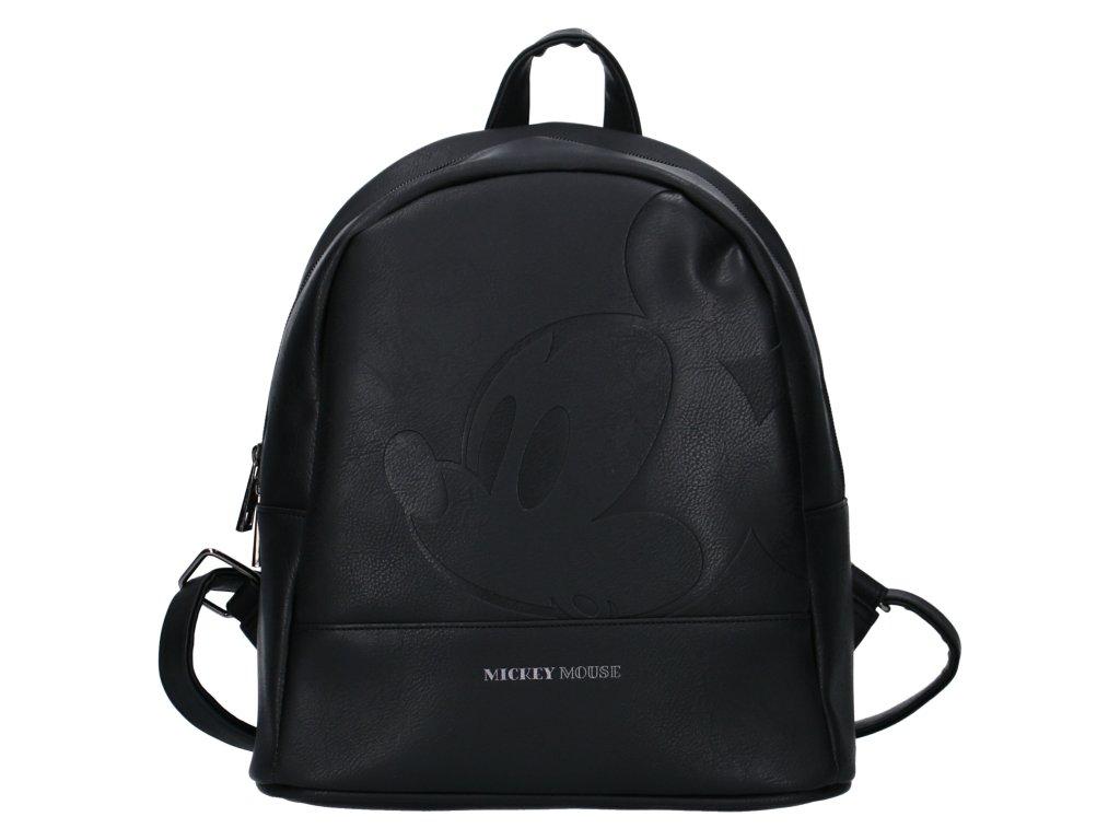 Dámský designový batoh Disney Mickey Mouse - černý