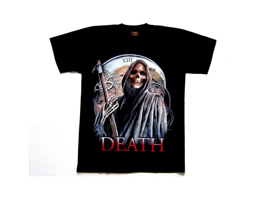 Motorkářské Tričko Smrtka XIII