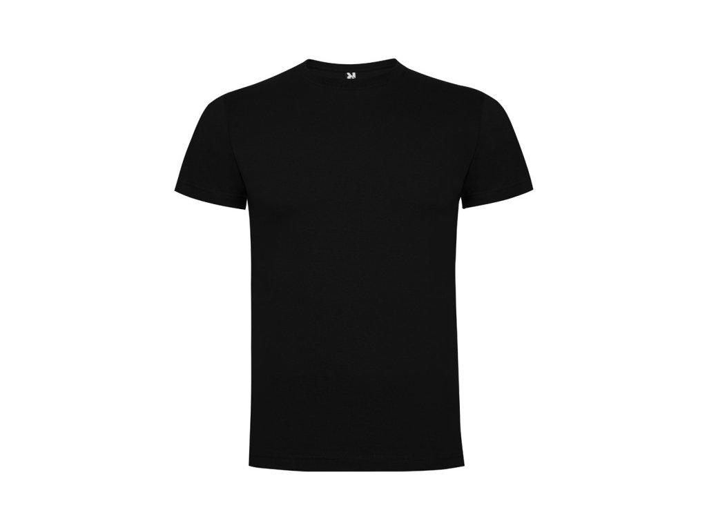 Pánské Tričko Černé