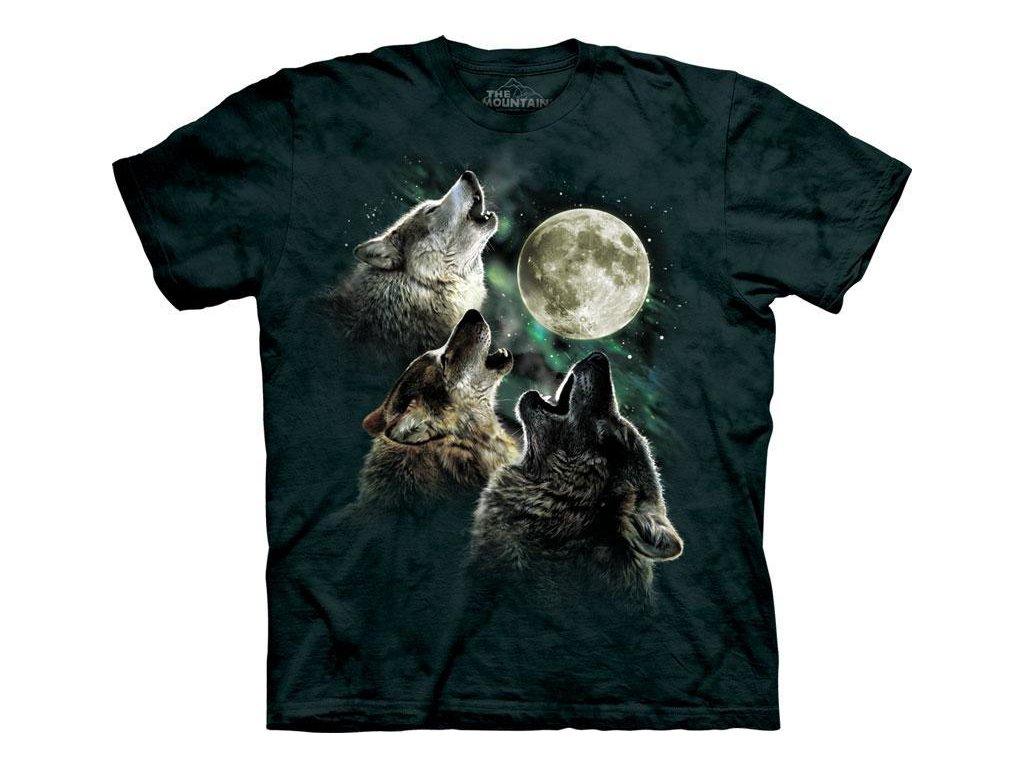 Tričko Three Wolf Moon