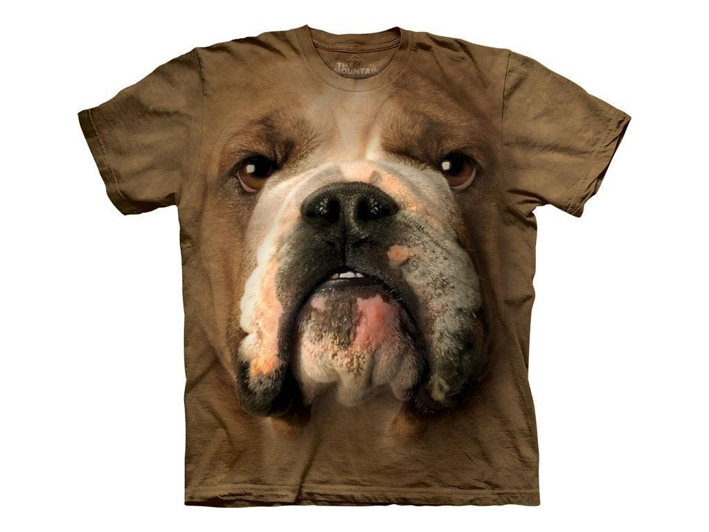 Tričko Bulldog Face