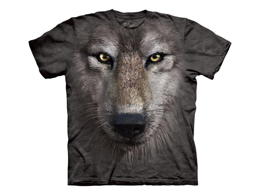 Tričko Wolf Face