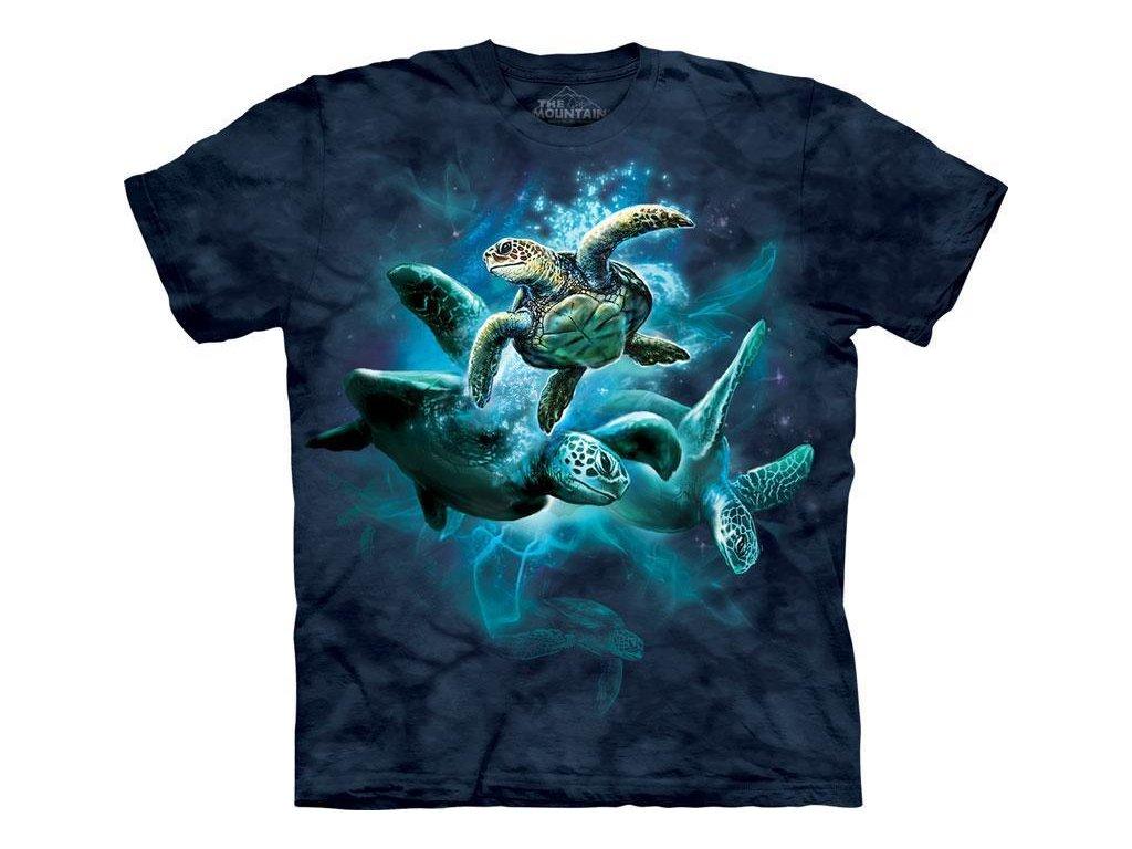 Koláž mořských želv