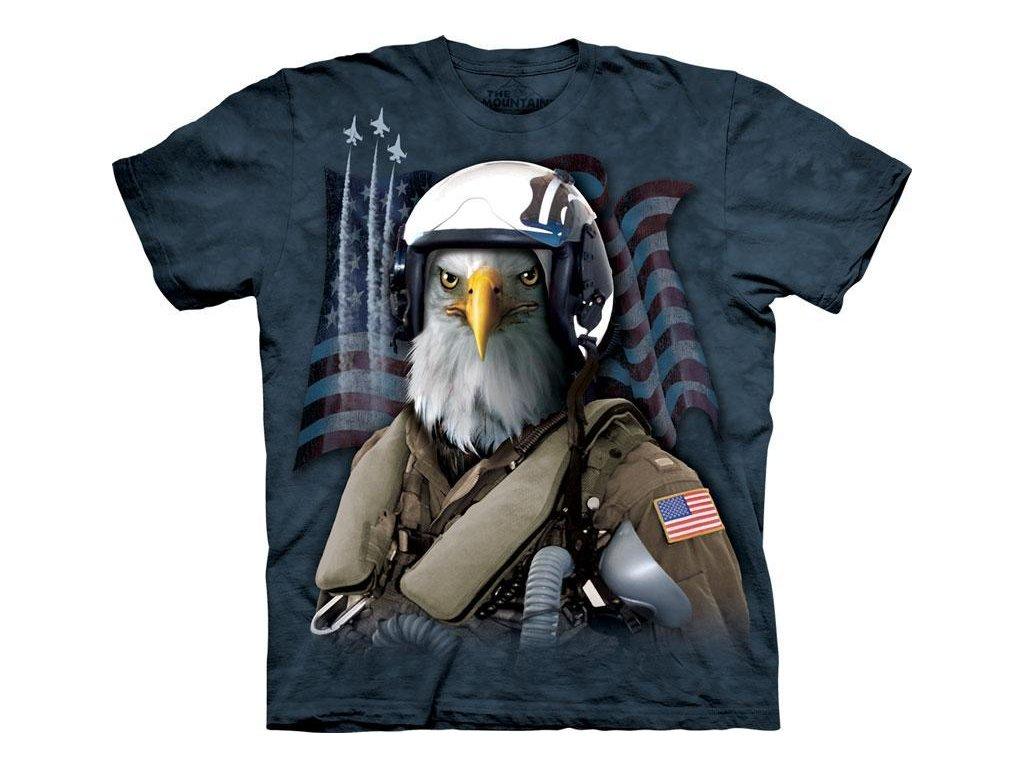 Tričko Combat Stryker - Orel stíhacím pilotem - 2017