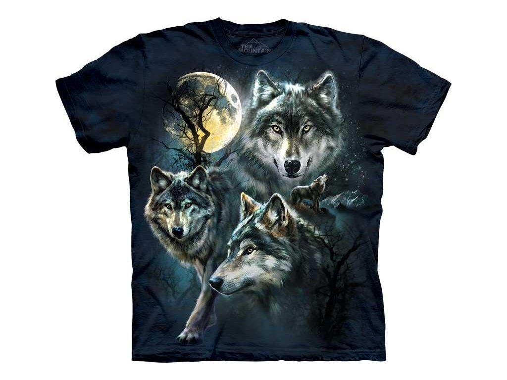 Tričko Vlčí měsíc - Dětské