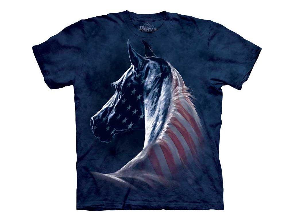 Tričko Koňský patriot