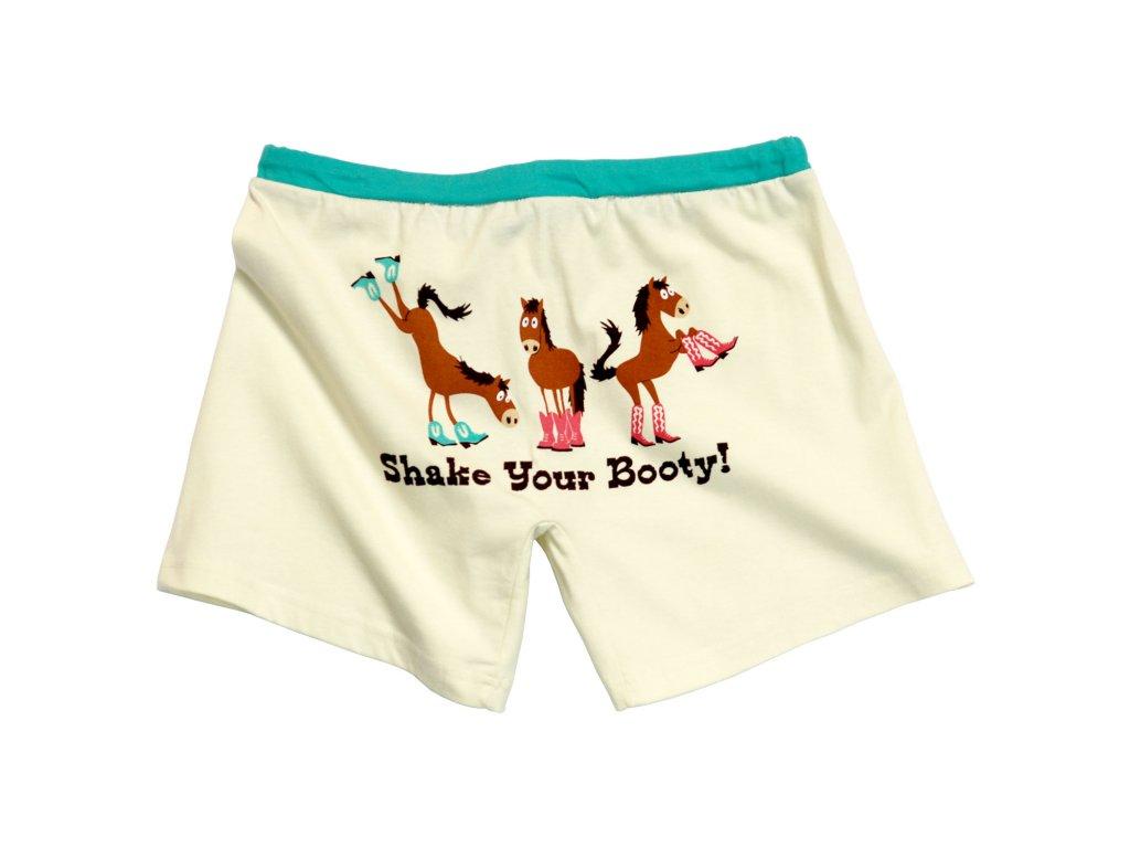 Dámské Trenky s koňma - Shake Your Booty!
