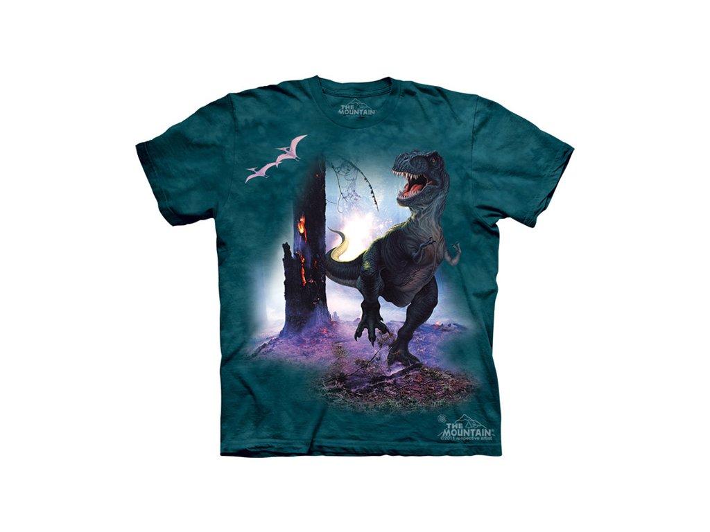 Tričko s dinosaurem - Rex - Dětské