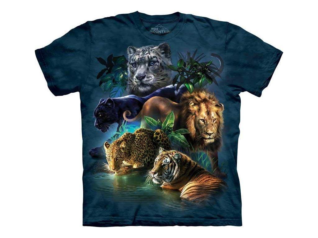 Tričko Kočičí džungle - Dětské - 2017