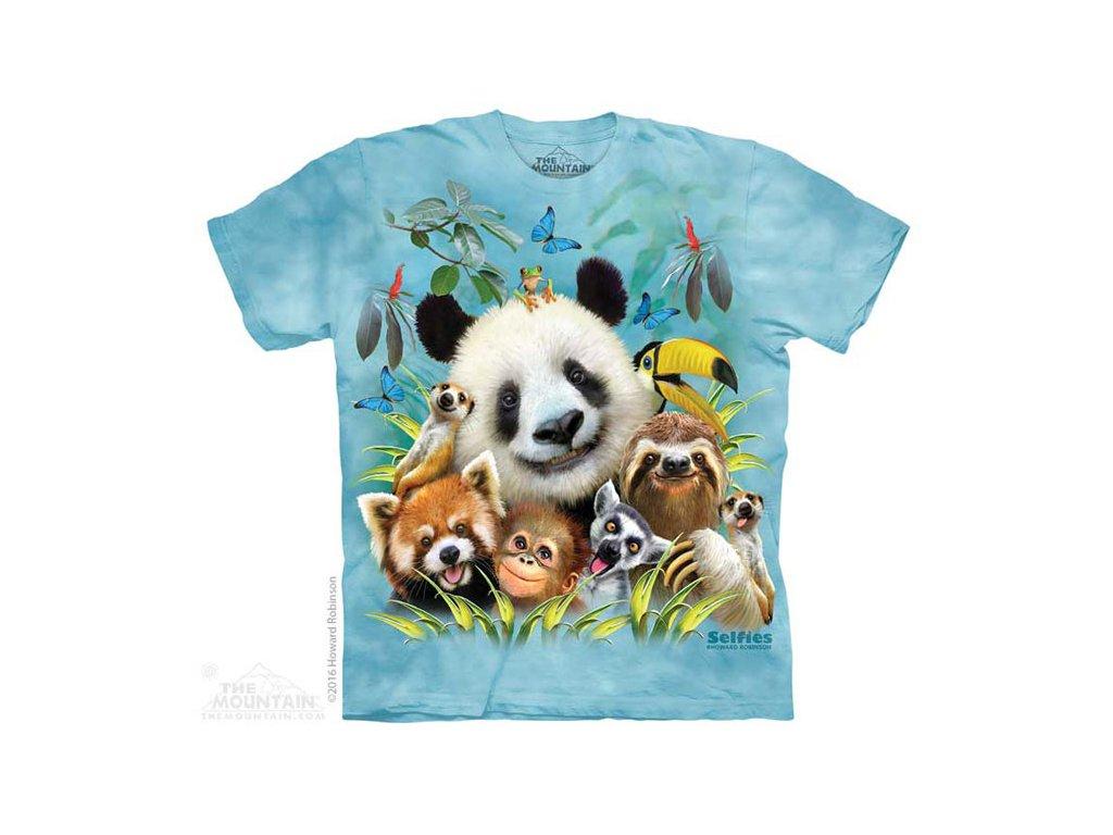 Dětské Tričko Zoo Selfie - 2017