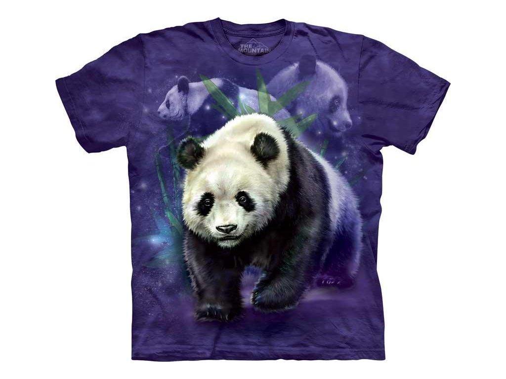 Tričko Veselá panda - Dětské