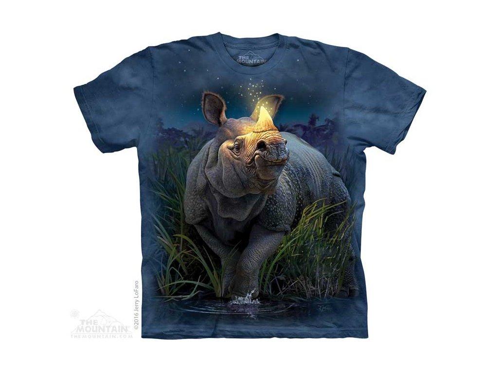 Dětské Tričko Nosorožec se zlatým rohem - 2017