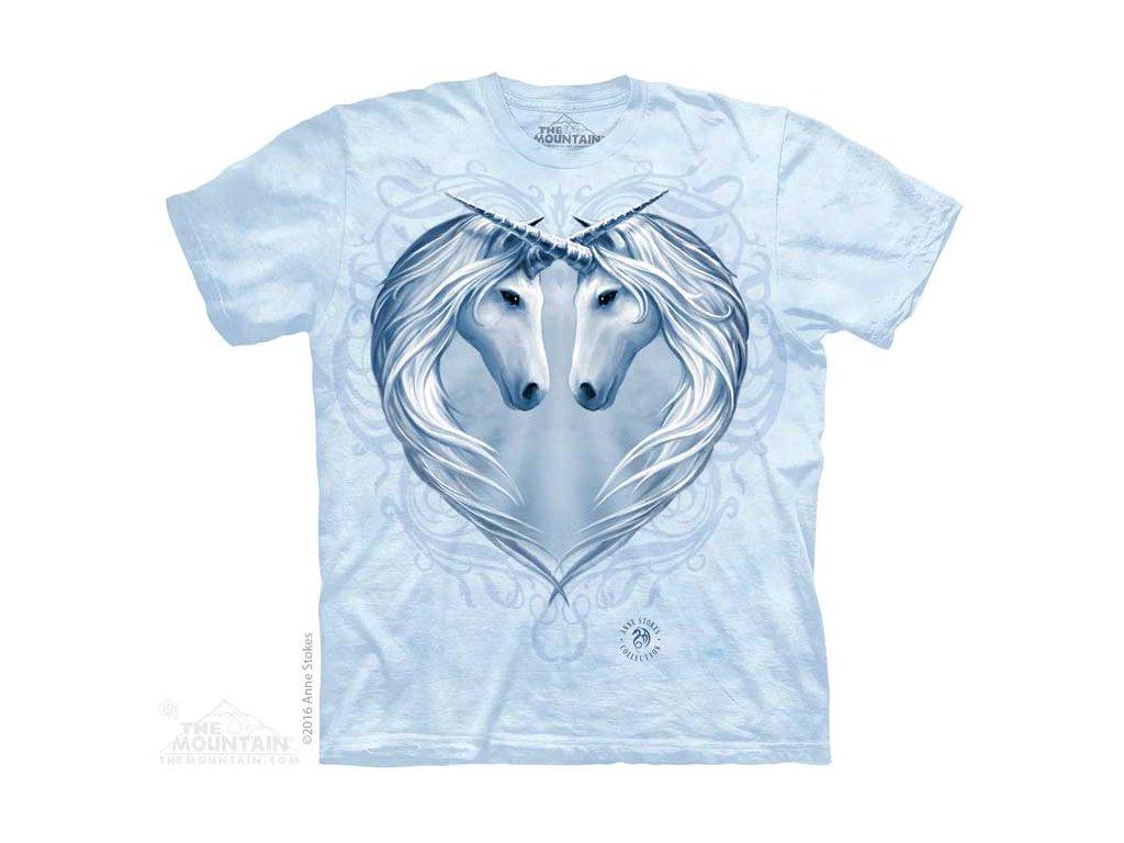 Tričko Srdce Jednorožců
