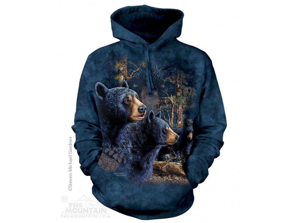 Mikina Najdi 13 Černých Medvědů