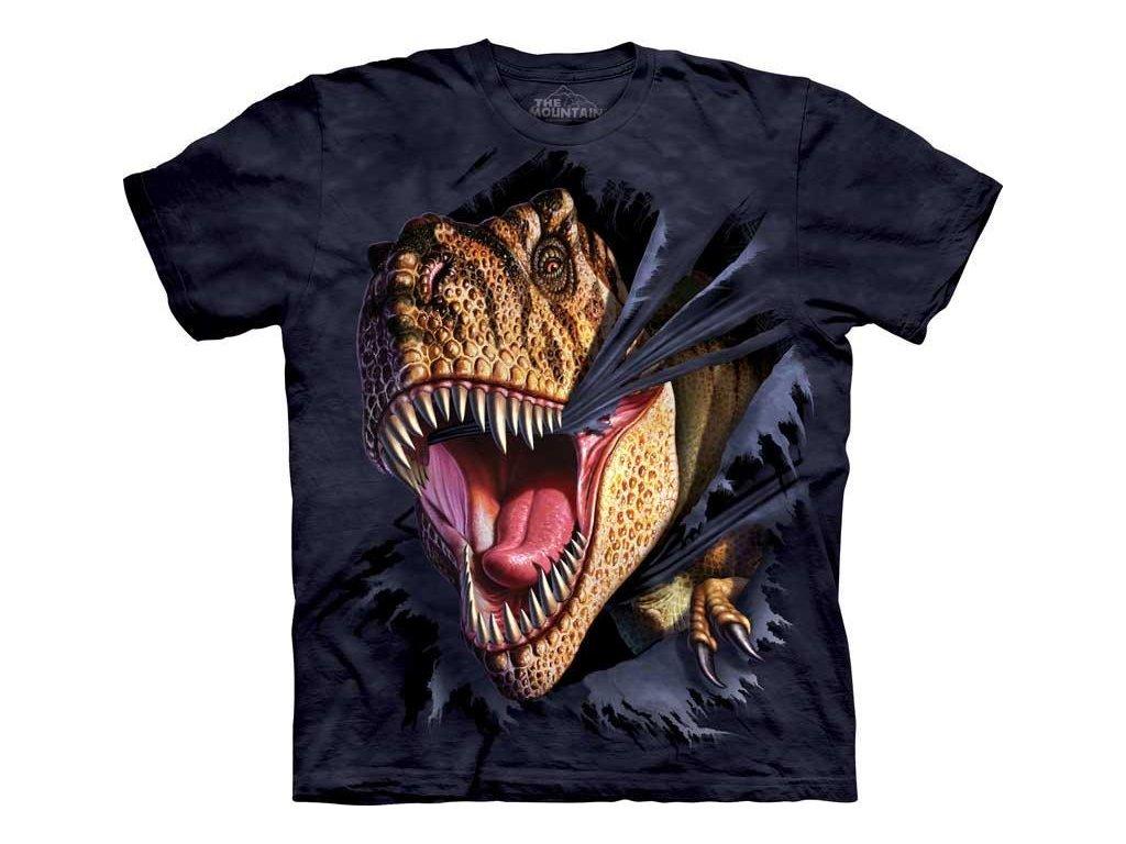 T-Rex trhající se z trička - Dětské