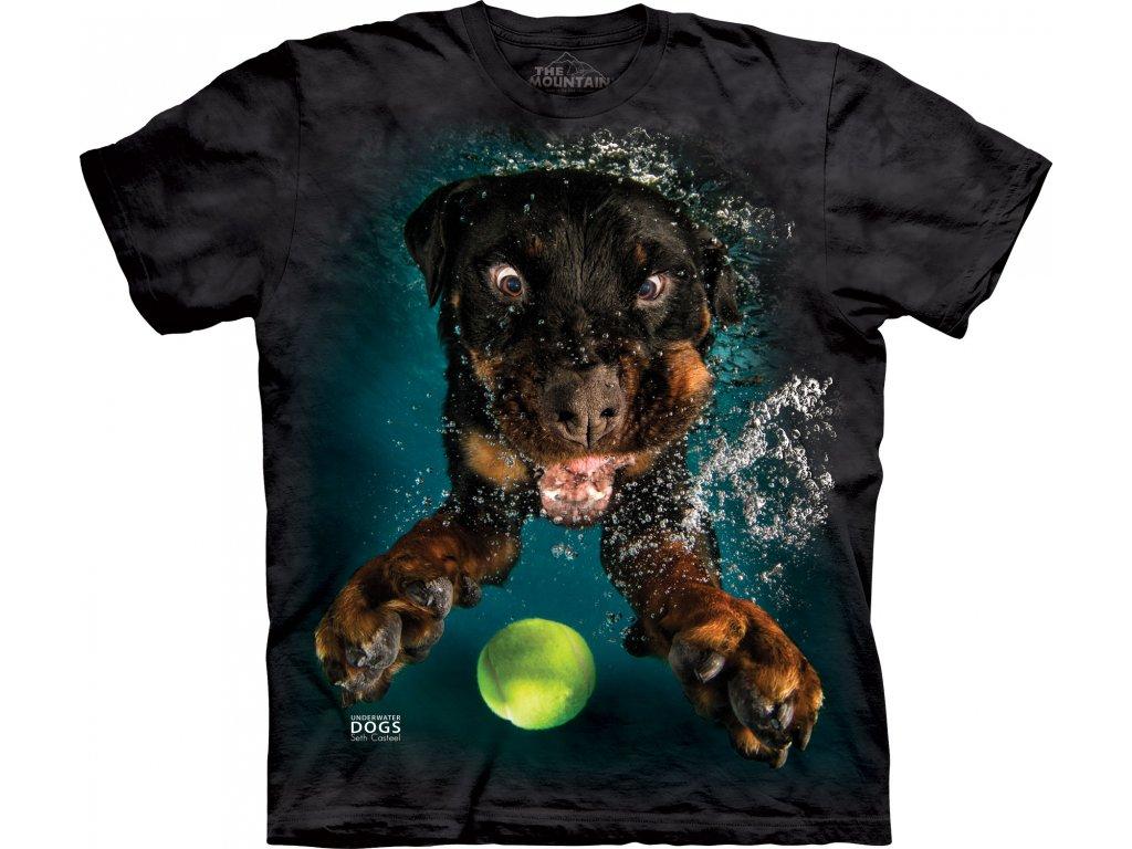 Tričko potápějící se Pes Mylo - 2017