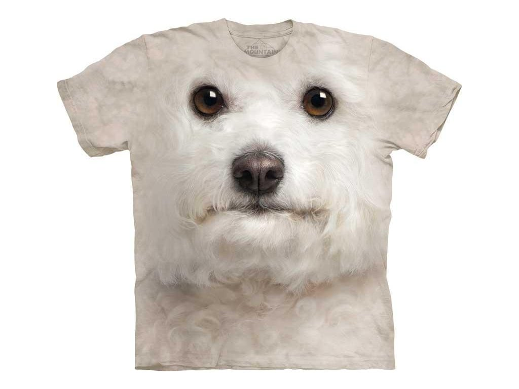 Tričko Bišonek Psí Tvář