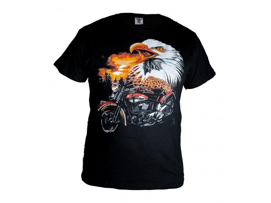 Tričko s Orlem a Červenou Motorkou