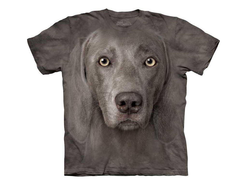 Tričko Výmarák Psí Tvář