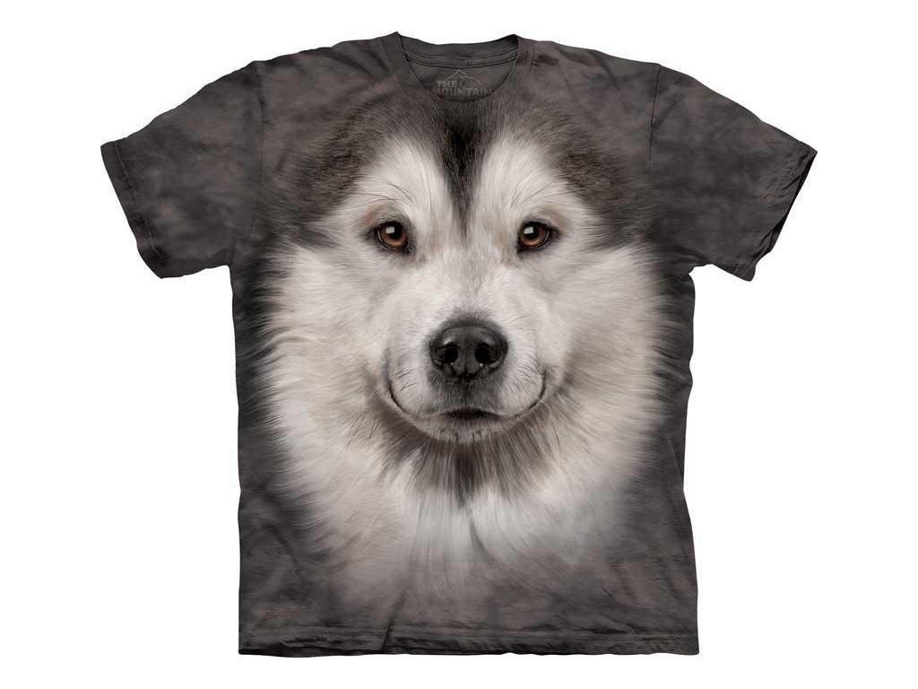 Tričko Aljašský Malamut Psí Tvář