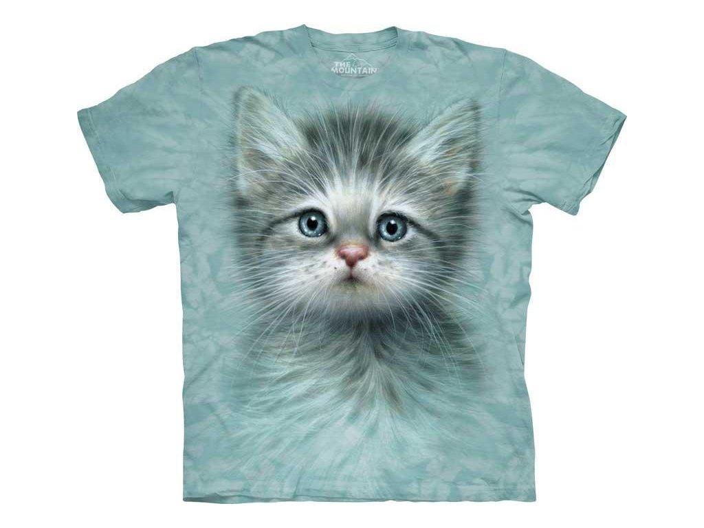 Tričko Tvář Modrookého Kotátka - Dětské