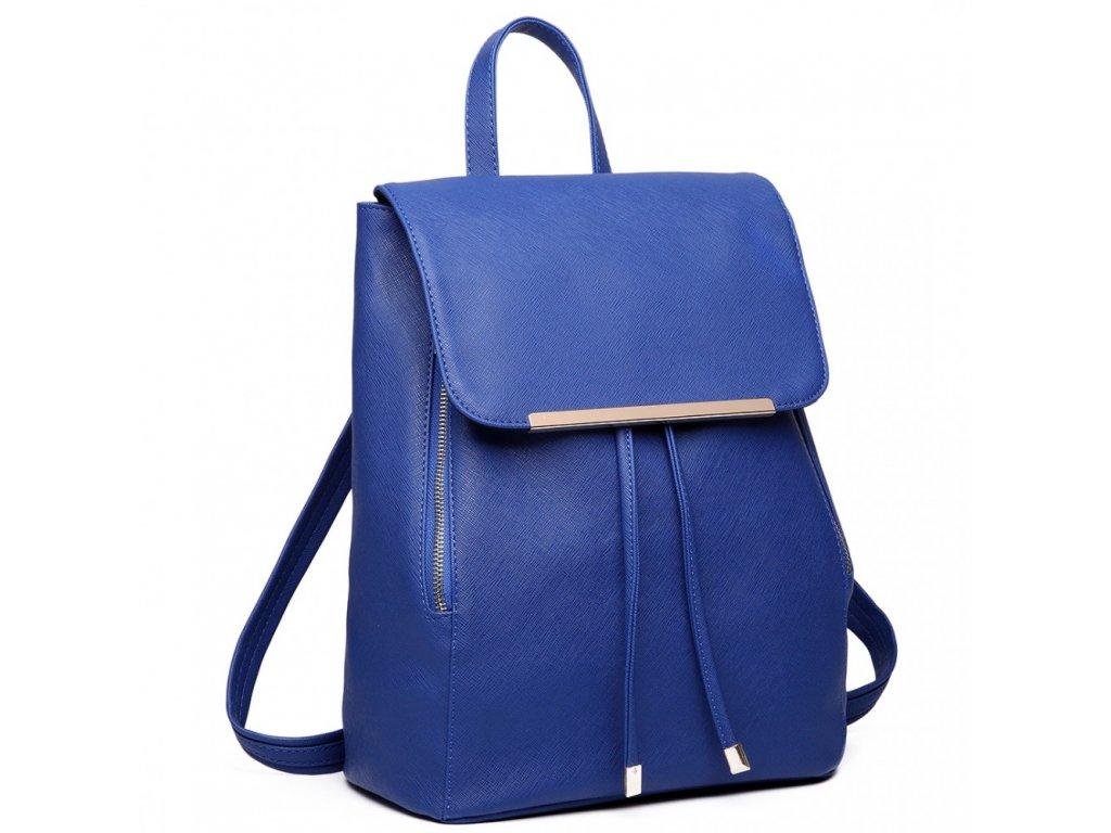 Elegantní Dámský Batoh - Modrý