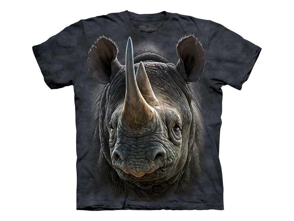 Tričko Černý Nosorožec
