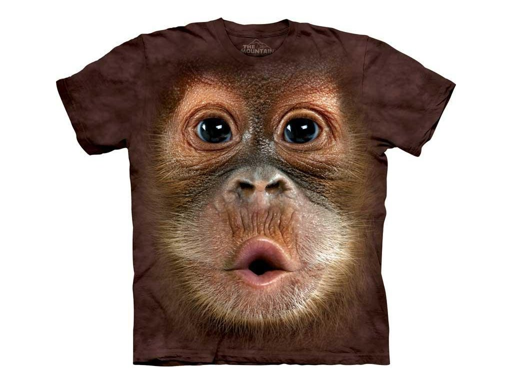 Tričko Dítě Orangutan