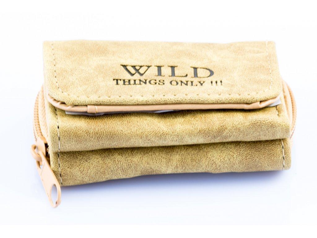 Mikro Peněženka Wild Písková