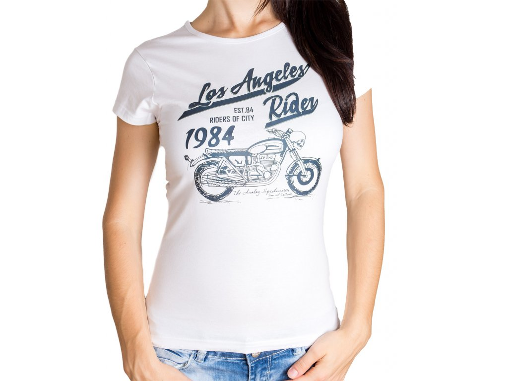 Dámské Tričko Los Angeles Rider