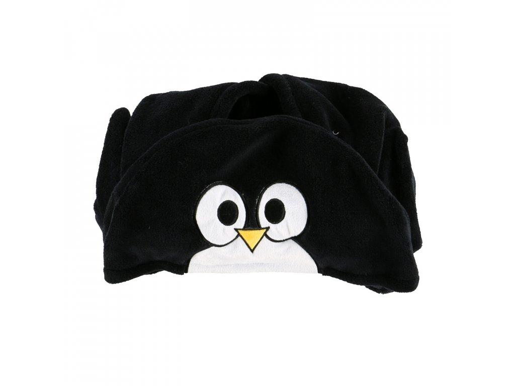 Dětská fleecová deka - Tučňák