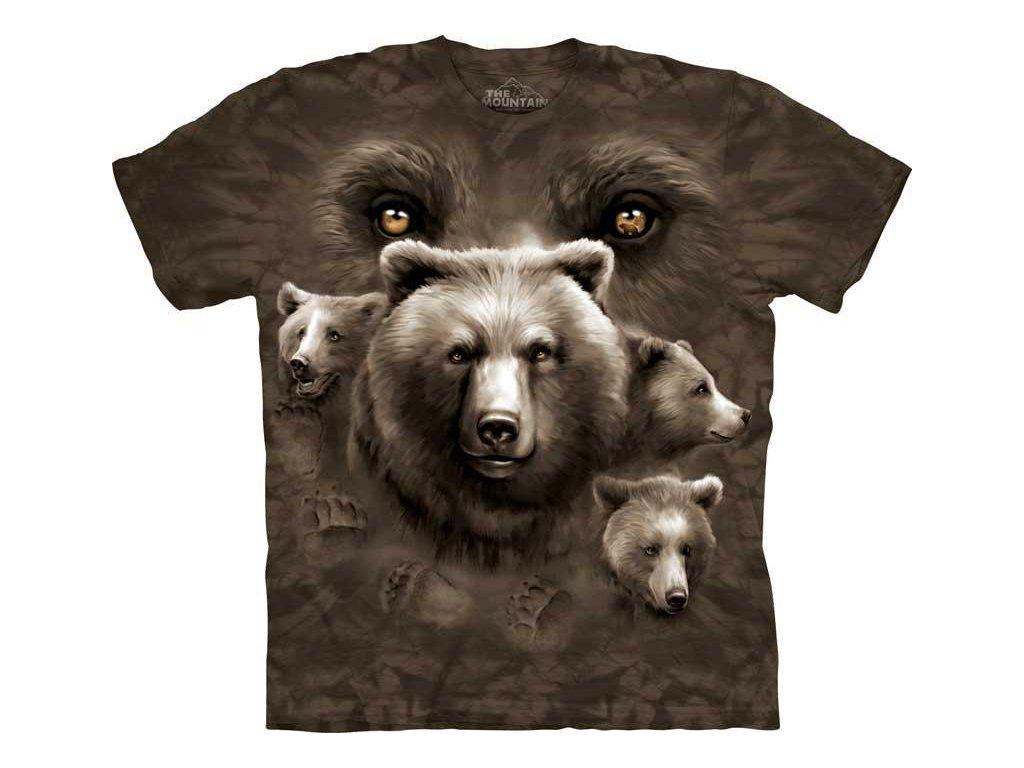 Tričko Medvědí oči - 2017