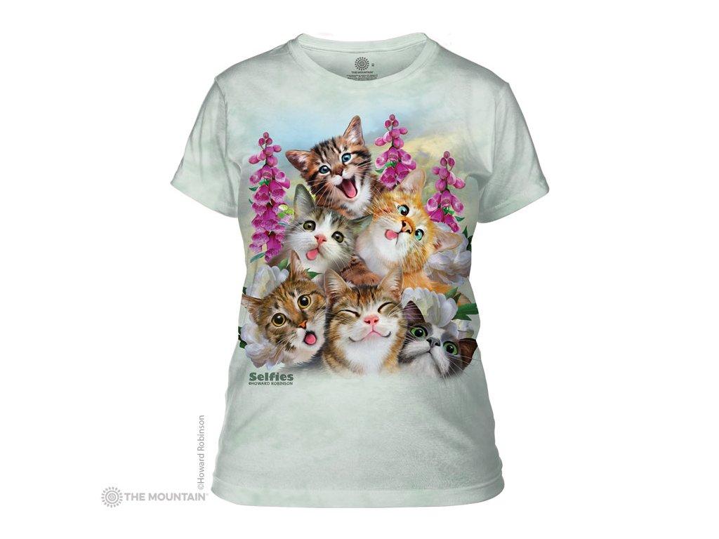 Tričko Selfie Kočičky Dámské