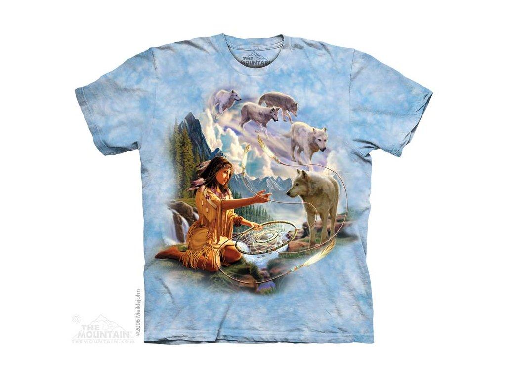 Tričko Indiánka s vlky - 2017