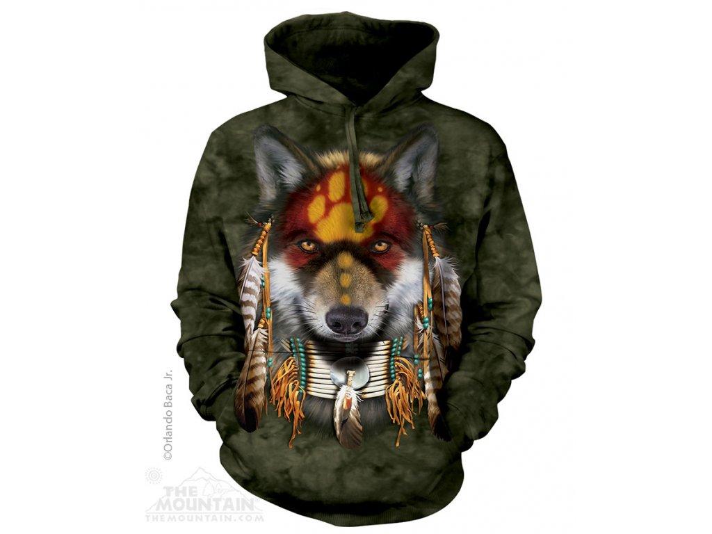 Mikina Indiánský Vlčí Duch