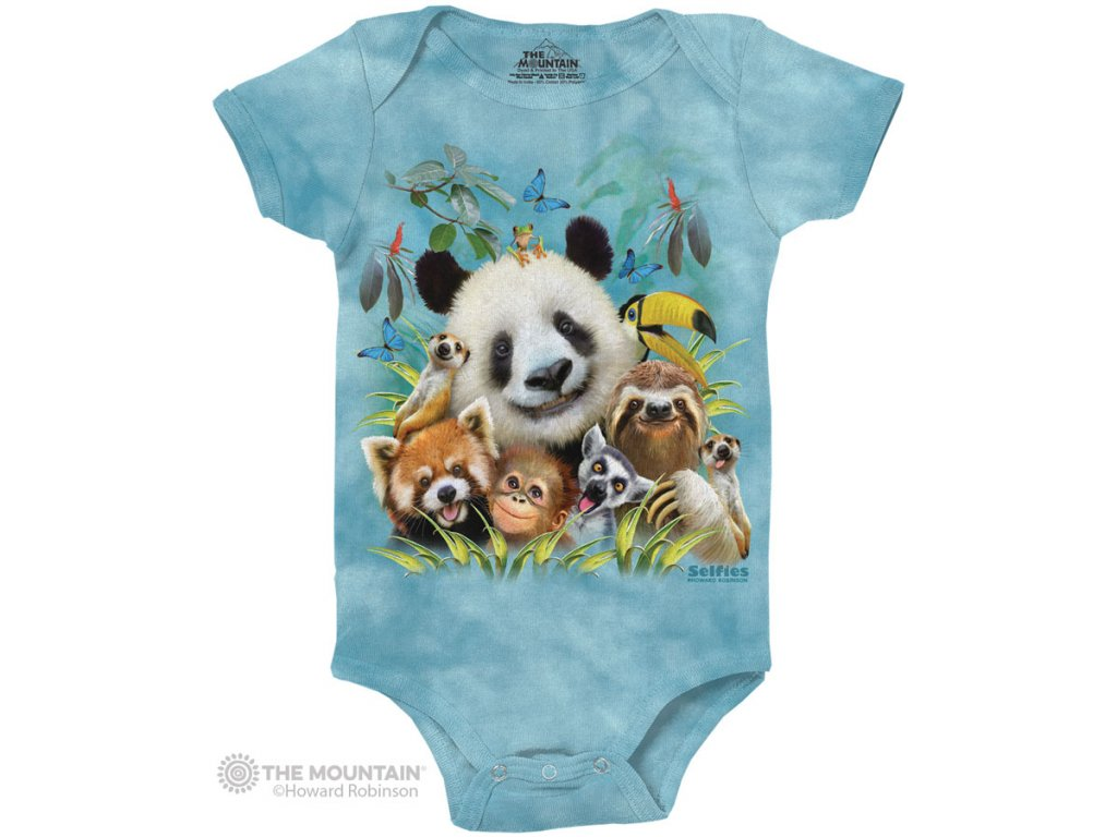 Dětské body Zoo Selfie