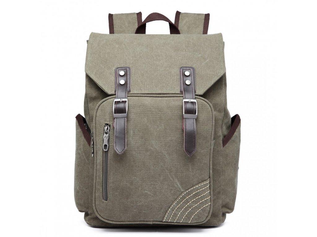 Pánský batoh na 14/15 palcový notebook - green