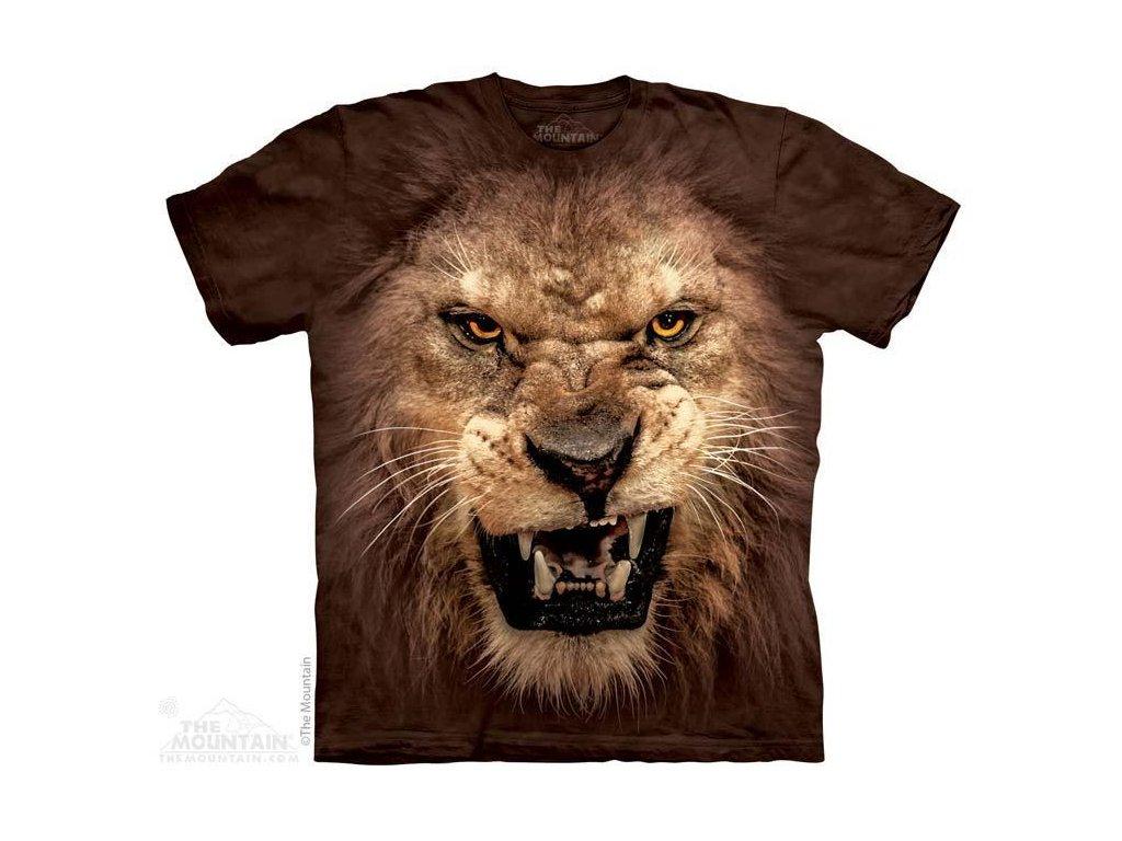 Tričko s potiskem lva