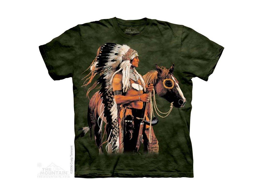 Tričko Náčelník indiánů a kůň